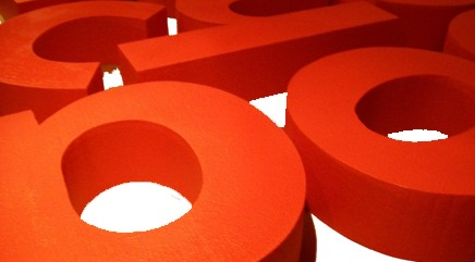 red-3dletters-600mm-high-200mm-thick