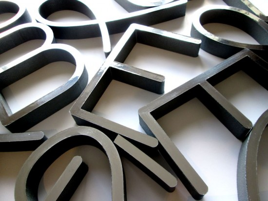 polystyrene letters and logos makers of quality display With chrome wall letters