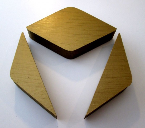 gold-painted-styrofoam-logo