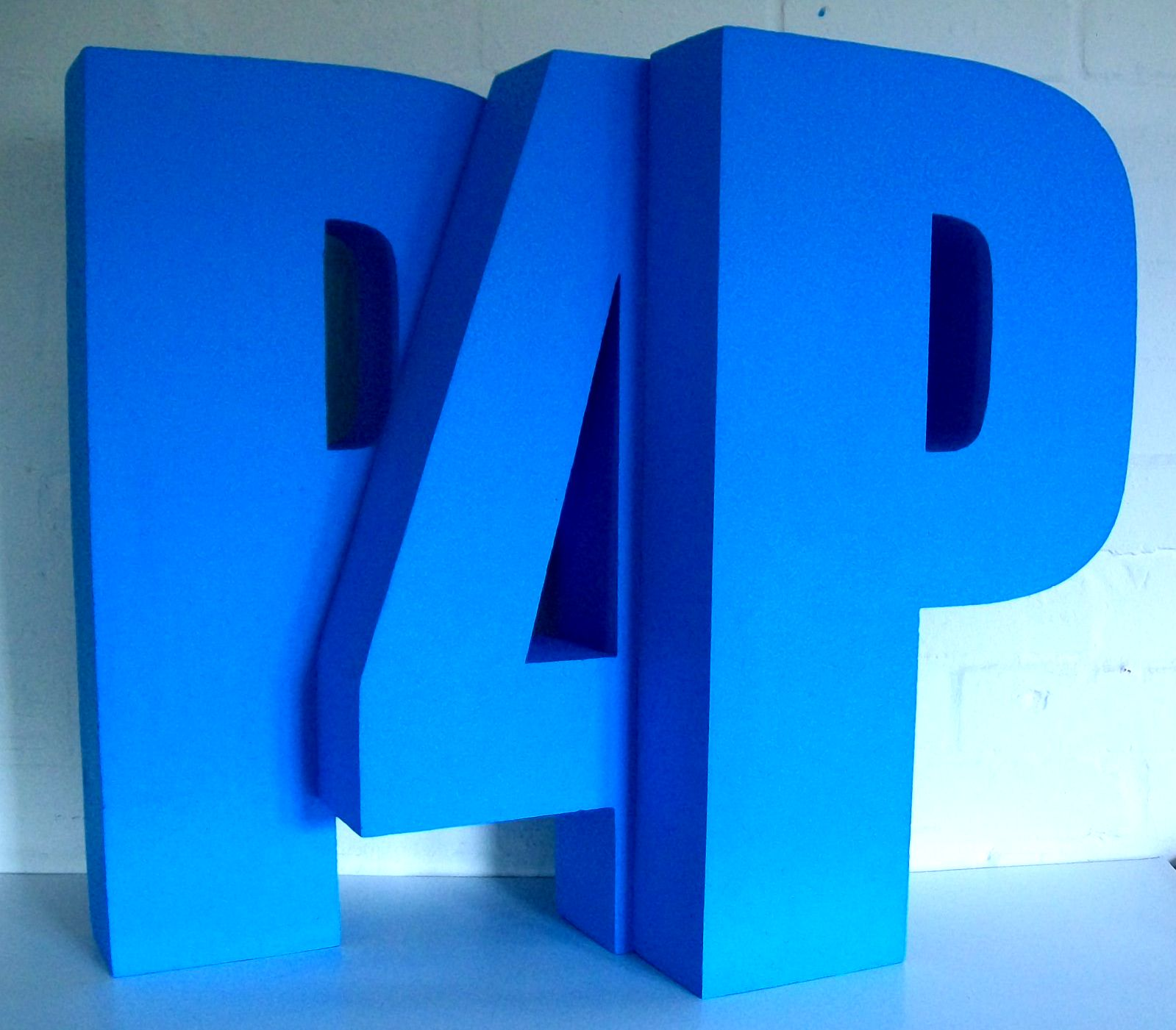 p4p-blue-polystyrene-letters-impact-font