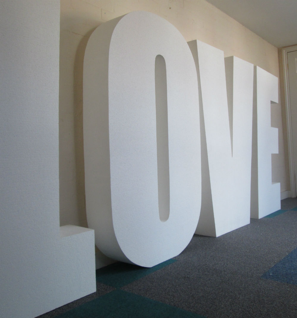 Giant Love Letter Images