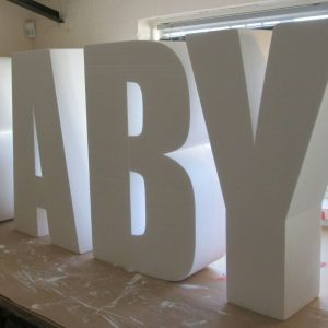 table base letters